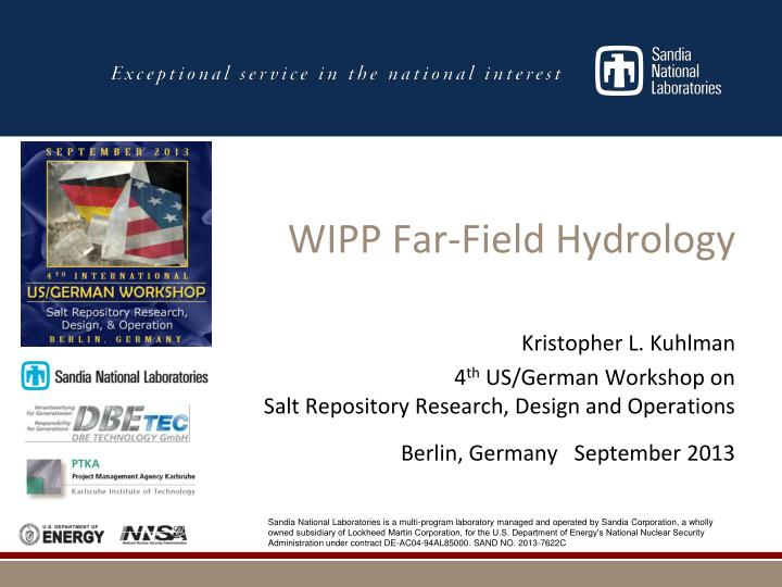 wipp far field hydrology n.
