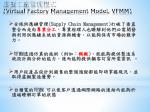 virtual factory management model vfmm