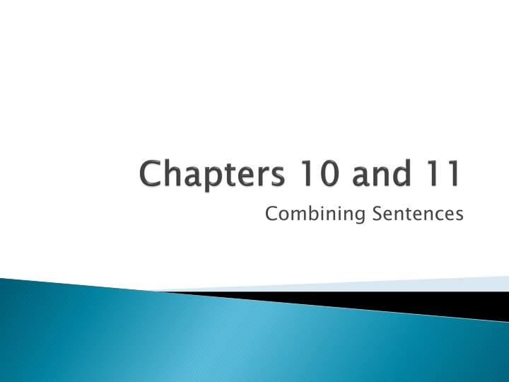 chapters 10 and 11 n.