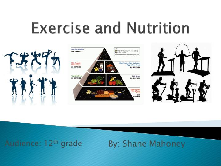 exercise and nutrition n.