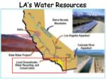 la s water resources