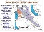 pajaro river and pajaro valley basins