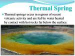 thermal spring