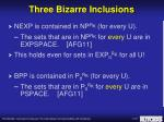 three bizarre inclusions8