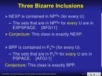 three bizarre inclusions9