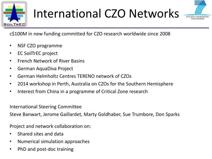 International CZO Networks