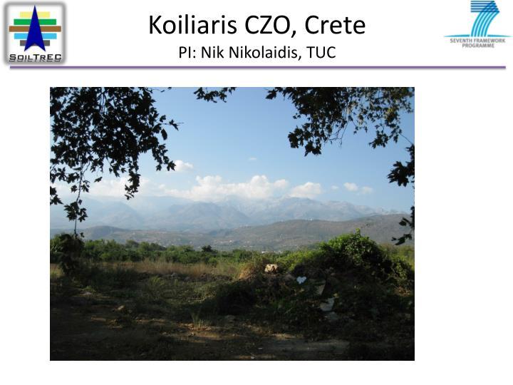 Koiliaris CZO, Crete