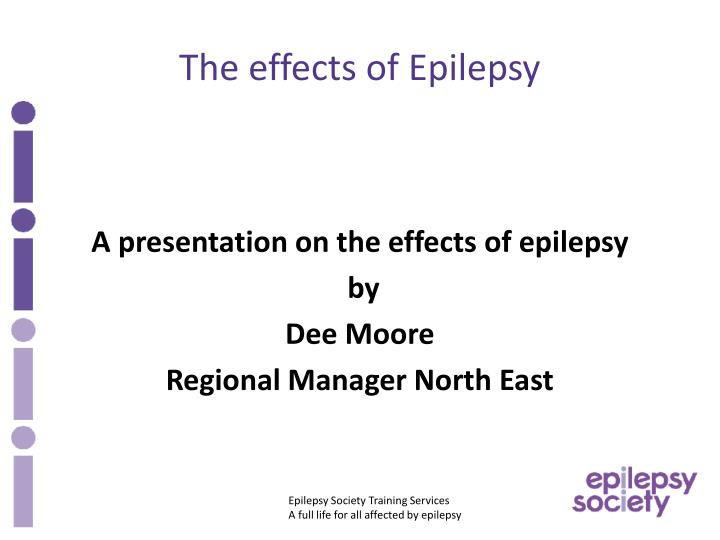 the effects of epilepsy n.