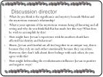 discussion director1