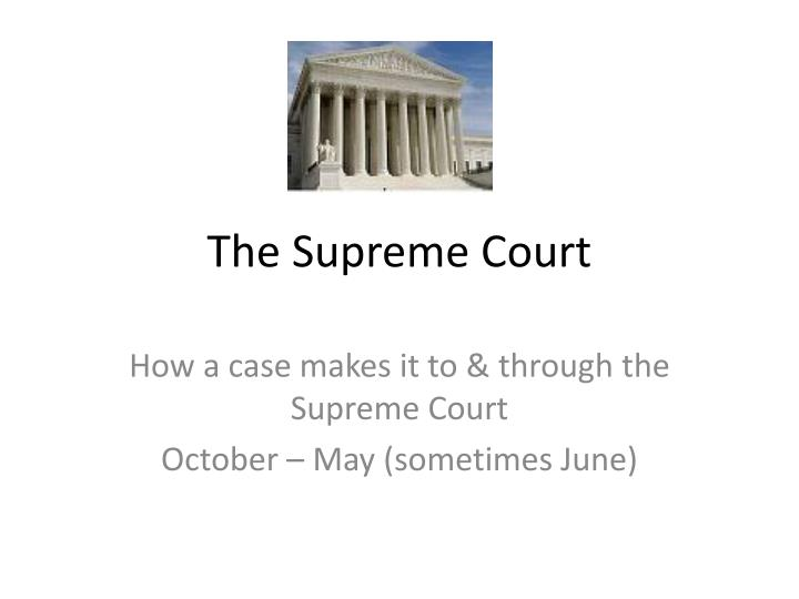 the supreme court n.