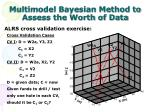 multimodel bayesian method to assess the worth of data2