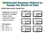 multimodel bayesian method to assess the worth of data3