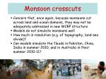 monsoon crosscuts