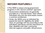 reform features 3