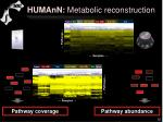humann metabolic reconstruction