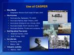use of casper