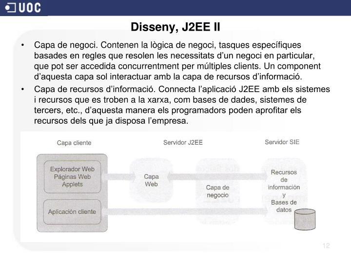 Disseny, J2EE II