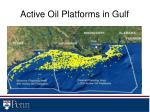 active oil platforms in gulf