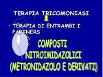 terapia tricomoniasi