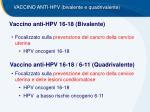 vaccino anti hpv 16 18 bivalente