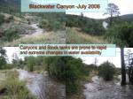 blackwater canyon july 2006
