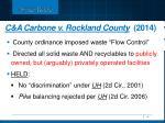 c a carbone v rockland county 2014