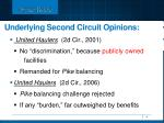 underlying second circuit opinions