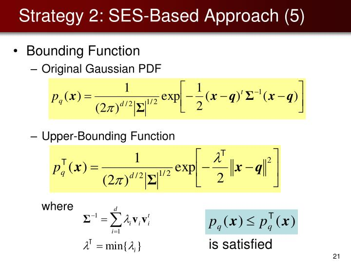 Strategy 2: SES-Based Approach (5)