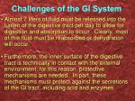 challenges of the gi system