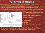 gi smooth muscle