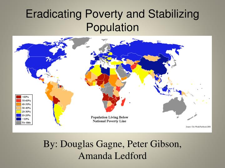 eradicating poverty and stabilizing population n.