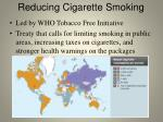 reducing cigarette smoking