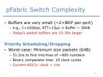 pfabric switch complexity