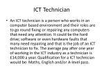 ict technician