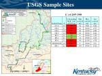 usgs sample sites1