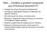 m s cambios a producir propuesto por el personal docente2