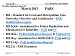 march 2013 pars