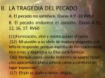 ii la tragedia del pecado1