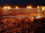 poca del profeta oseas 700 a c1