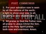 post communion1