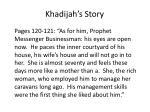 khadijah s story