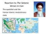 reaction to the satanic verses in iran