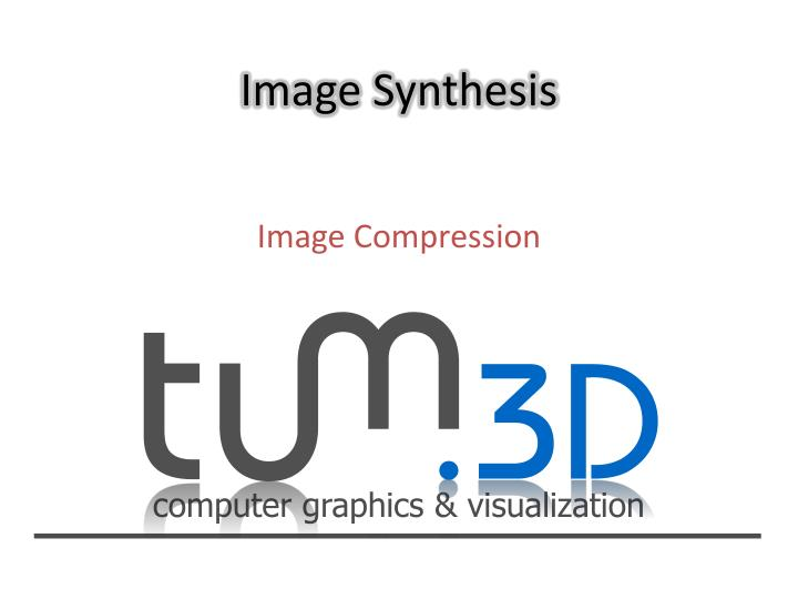 image synthesis n.