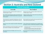section 2 australia and new zealand