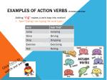 examples of action verbs by kazuki and rose