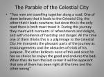 the parable of the celestial city