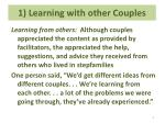 1 learning with other couples