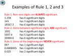 examples of rule 1 2 and 3