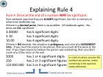 explaining rule 4