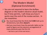 the modern model optional enrichment2